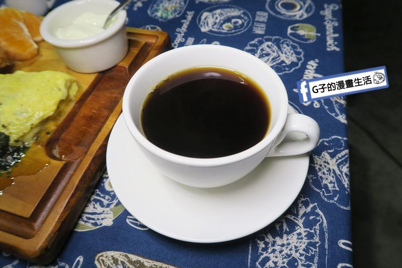 永和肥禿子美式餐廳-早午餐附的美式咖啡