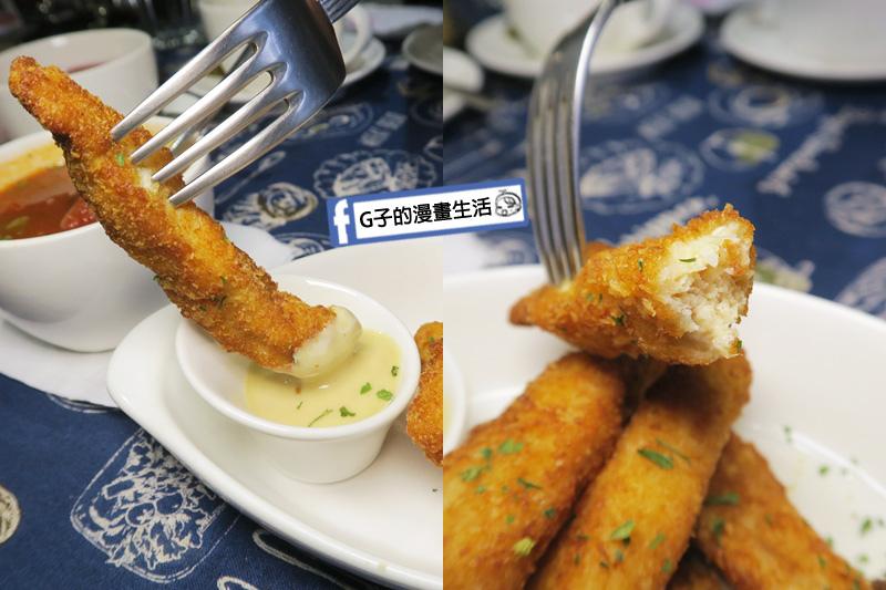 肥禿子美式餐廳-雞柳條佐蜂蜜芥末醬 純雞胸肉