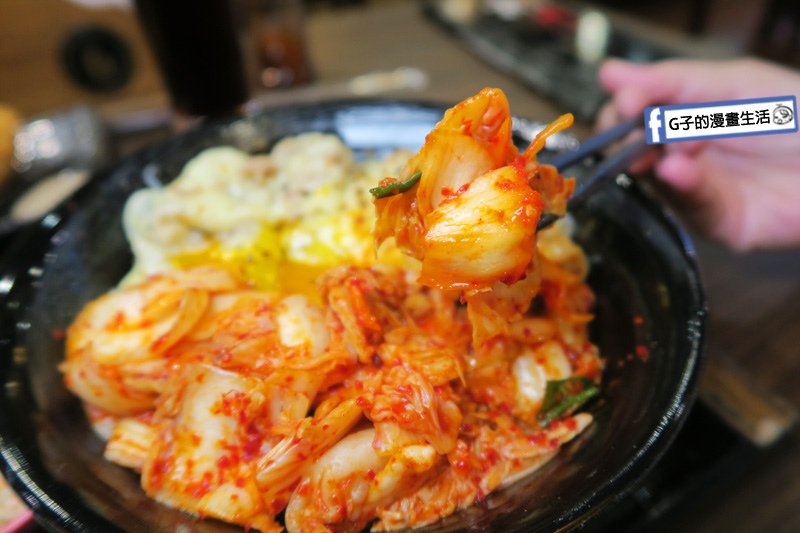 新丼 丼飯專賣店 紅通通泡菜開胃解膩