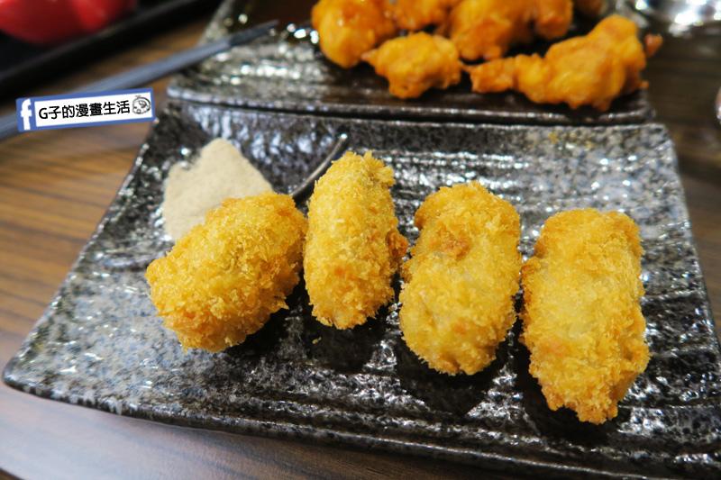 新丼 丼飯專賣店 海洋炸牡蠣 沾胡椒鹽