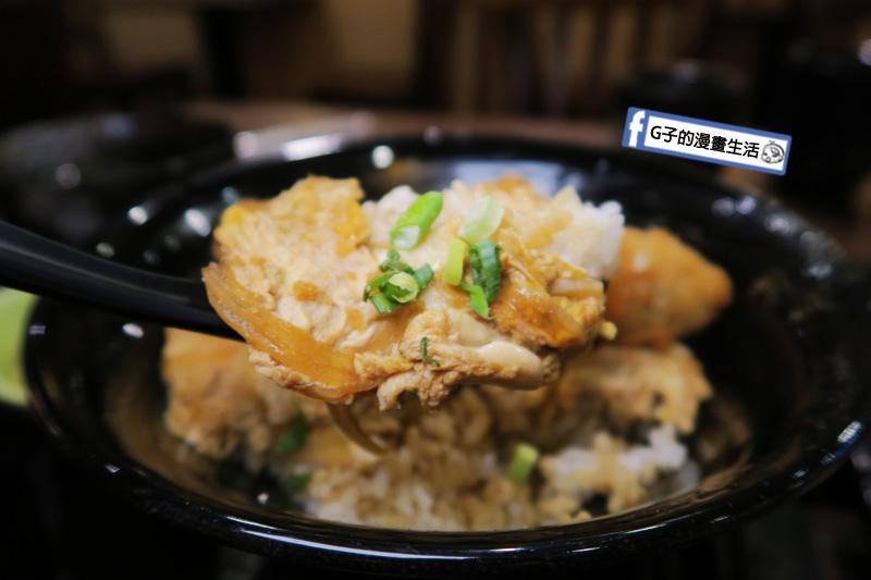 新丼 丼飯專賣店 海洋炸牡蠣丼 類似親子丼的醬汁