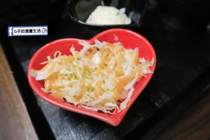 新丼 丼飯專賣店.高麗菜絲
