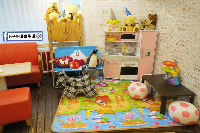 豐宇親子寵物友善餐廳 兒童遊玩空間