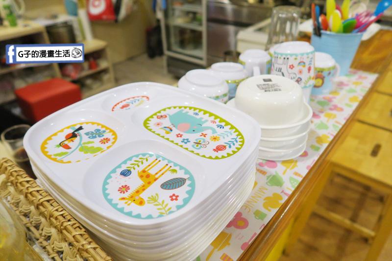 豐宇親子寵物友善餐廳 兒童餐具