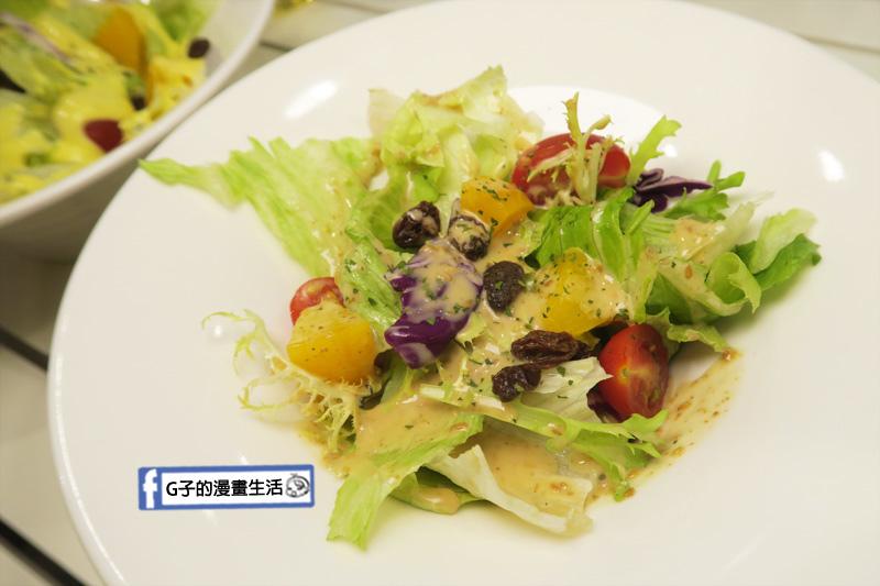 豐宇親子寵物友善餐廳 胡麻醬沙拉