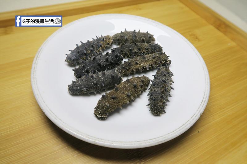 皇刺海參.刺參為乾燥需泡發