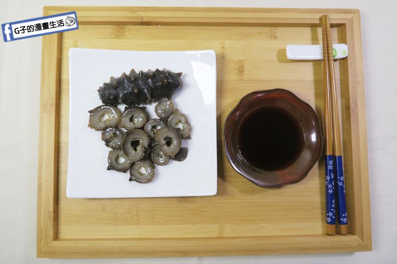 皇刺海參.刺參泡發後也可以涼拌切片吃