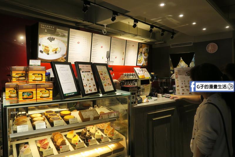 丹堤咖啡X G子的漫畫生活.下午茶咖啡甜點.焦糖瑪奇朵.摩卡咖啡.浦燒鯛魚蓋飯.10月美饌148元正餐.大安站