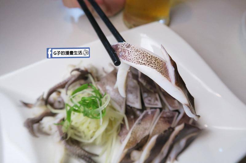 三重台北橋下-尻食堂.熱炒川菜中式餐酒館.東北角本港白灼軟絲下酒菜