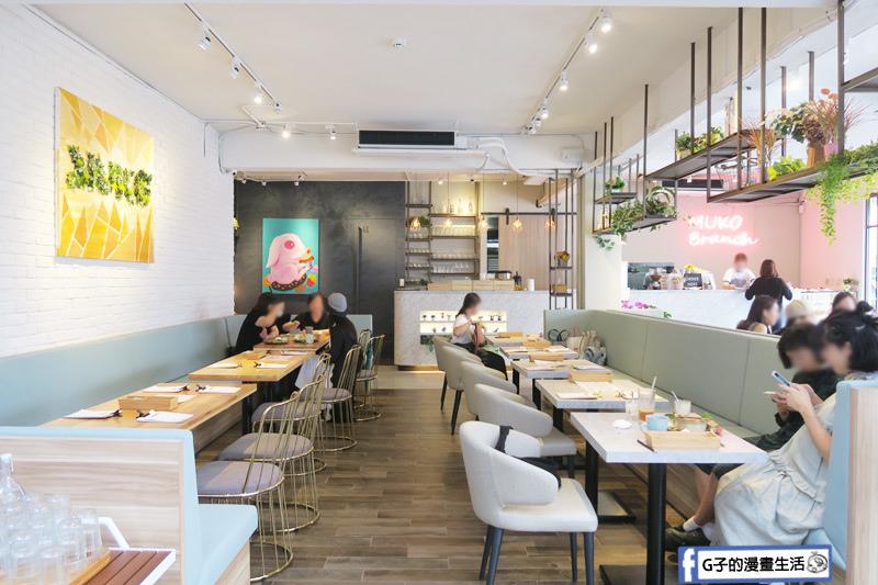 MukoBrunch-永康街早午餐-空間很大的餐廳,採光很好.拍照美