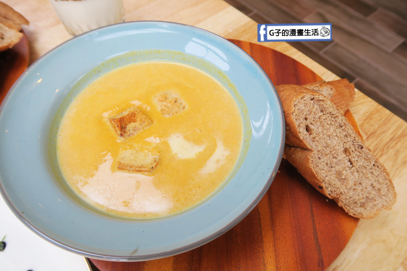 MukoBrunch-永康街早午餐-南瓜濃湯