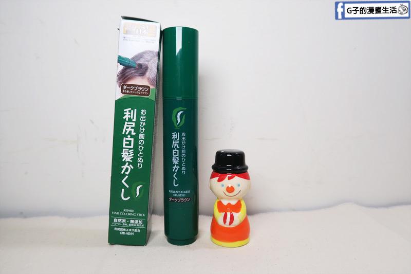 日本利尻昆布染髮筆.22種美髮植物成分.利尻昆布.白髮專用