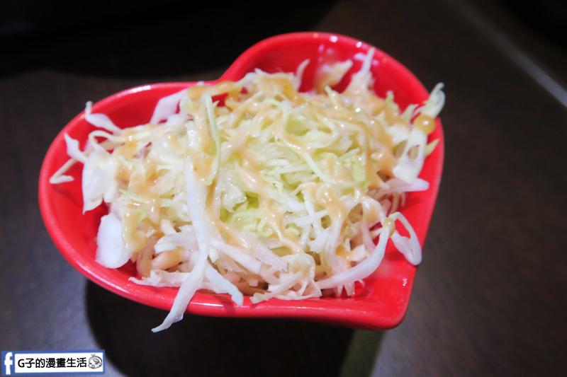 新丼日式丼飯專賣店-點丼飯就有附味增湯.高麗菜絲