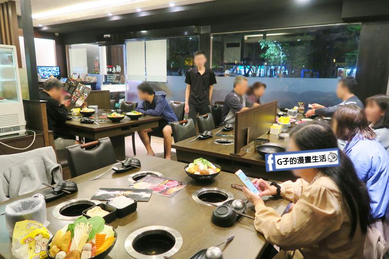 蘆洲火鍋 極禾優質鍋物蘆洲店 環境有1.2樓
