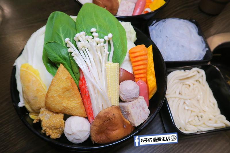 蘆洲火鍋 極禾優質鍋物蘆洲店 蔬菜盤很多