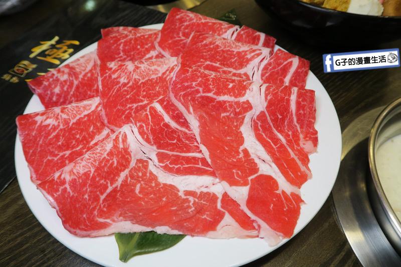 蘆洲火鍋 極禾優質鍋物蘆洲店 prime霜降牛 肉品