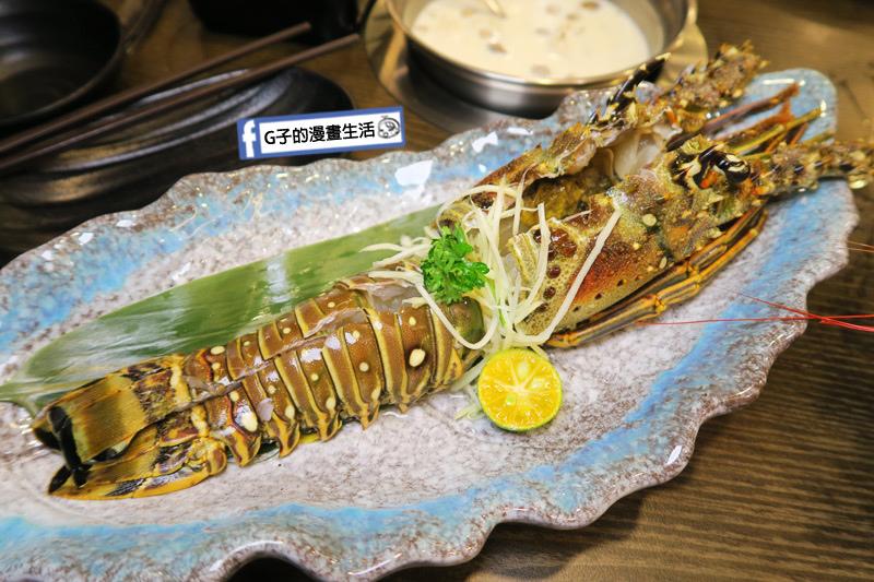 蘆洲火鍋 極禾優質鍋物蘆洲店 超值海陸雙人餐 龍蝦