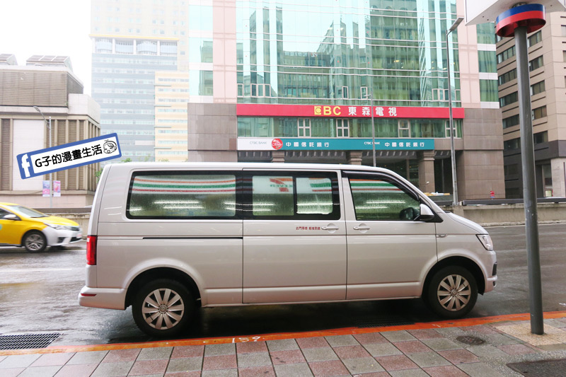 G子X哈旅行 台北包車一日遊 10人休旅車 8人乘客福斯