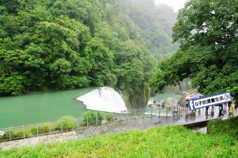 G子X哈旅行 台北包車一日遊.十分瀑布好壯觀 觀景台