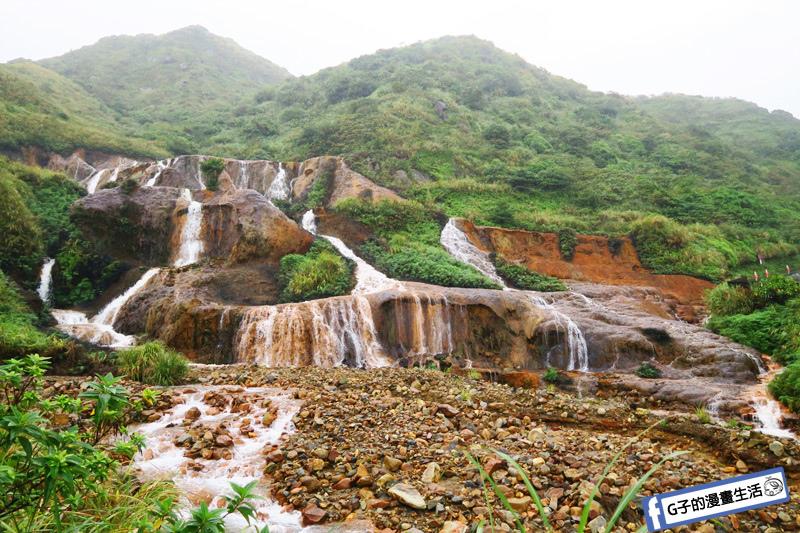 G子X哈旅行 台北包車一日遊.九份北海岸-黃金瀑布