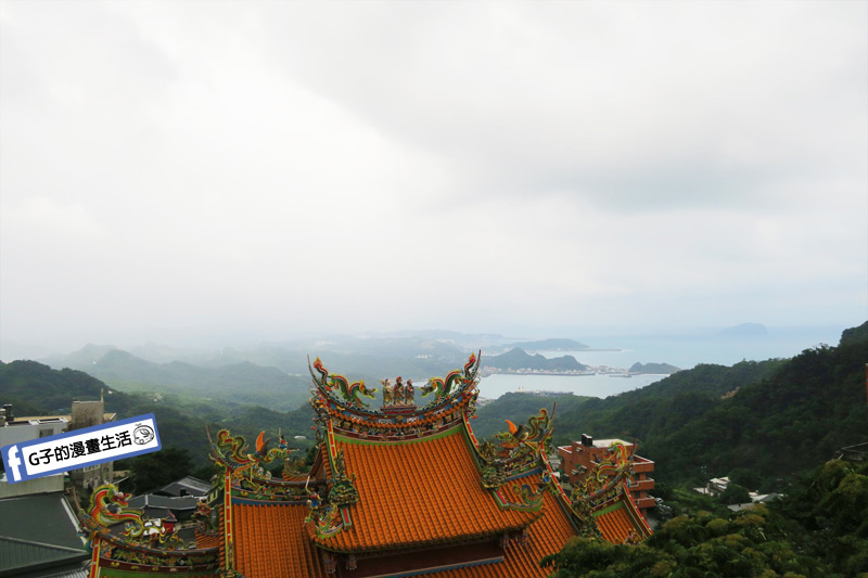 G子X哈旅行 台北包車一日遊.九份的風景