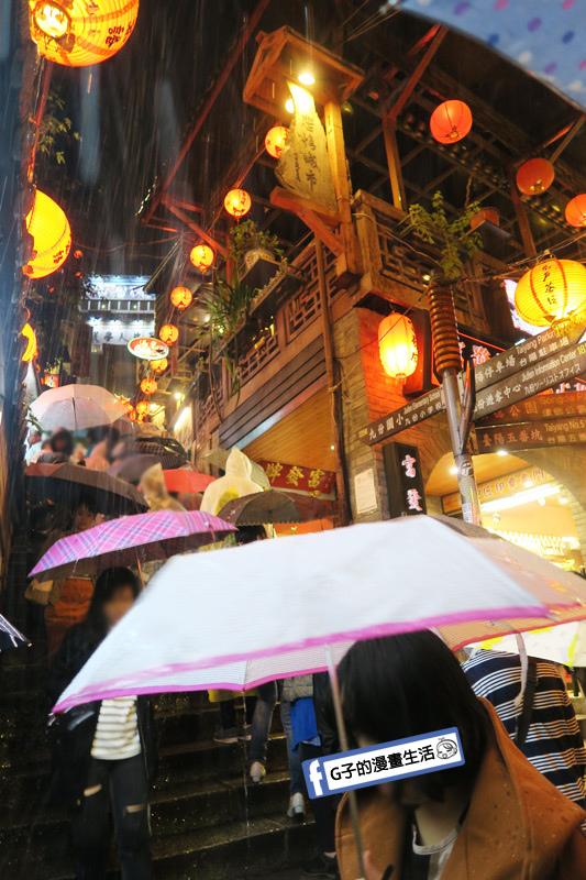 G子X哈旅行 台北包車一日遊.九份老街-燈火通明的夜景