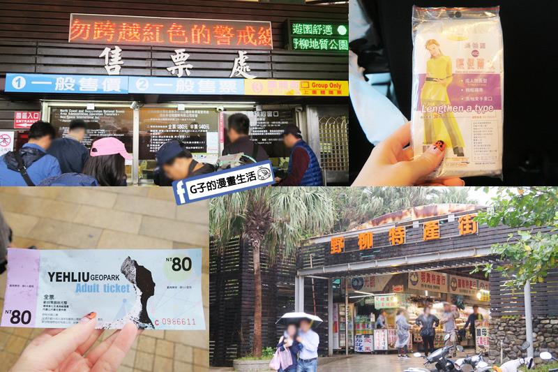 G子X哈旅行 台北包車一日遊.北海岸野柳地質公園.買門票