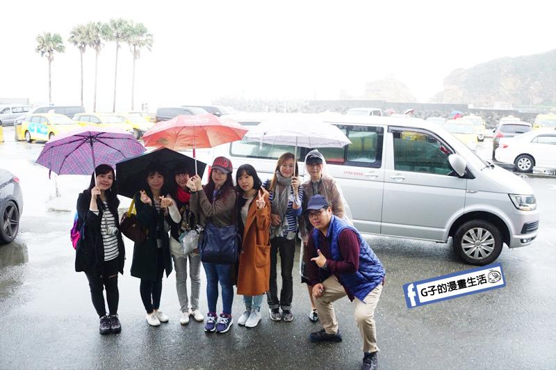 G子X哈旅行 台北包車一日遊-10人休旅車 8人乘客福斯