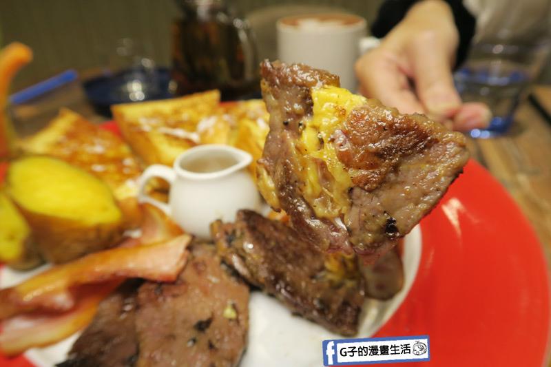 南京三民早午餐-好拾光大滿足.椒鹽牛小排.