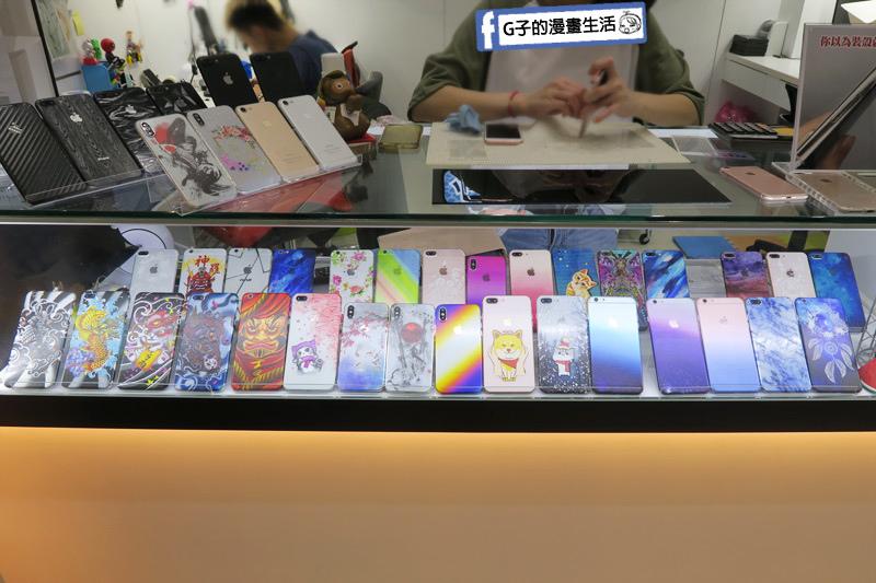 小豪包膜.Hao品牌.手機包膜.永和樂華店各式手機機身包膜選擇