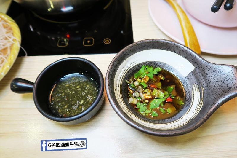 士林火鍋-牛棒碗安 GOBO 精緻鍋物.泰式酸辣醬.手工芝麻花生醬