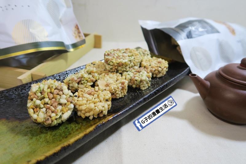 古阿莫零食 谷米酥 類似米果