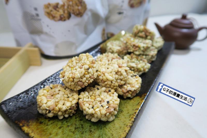 古阿莫零食 谷米酥 椒鹽有中式香料 八角.肉桂.五香粉