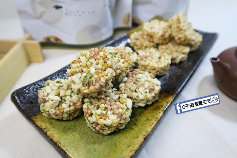 古阿莫零食 谷米酥 海苔口味 鹹香脆口