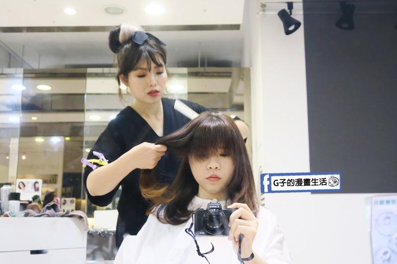 Hg 髮廊.美髮設計師小芬 吹整修剪劉海