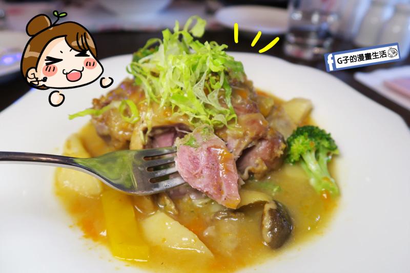 新莊慕拉諾義式餐廳 歐風燉烤豬腳