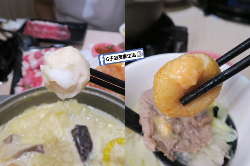 南勢角火鍋.鍋語鍋物.單點火鍋料-花枝丸.龍蝦沙拉球