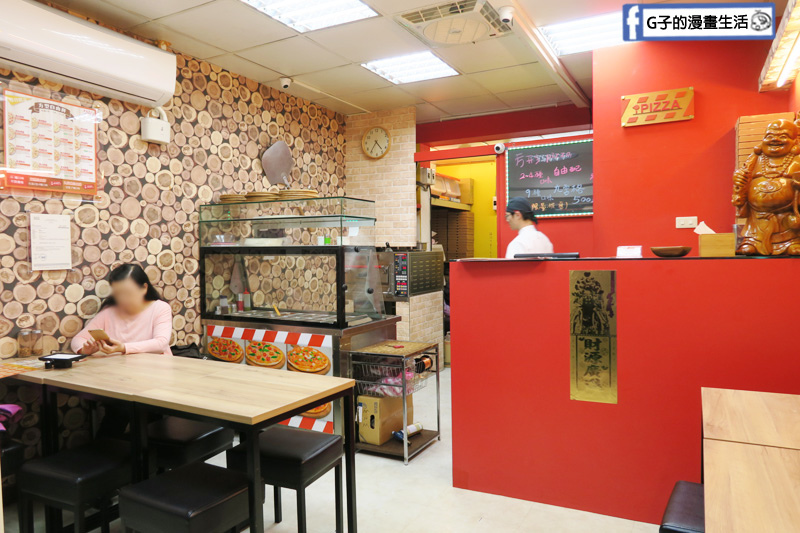 士林愛披薩 ipizza 可內用外帶/外送 oddle平台 預約披薩 Lalamove配送