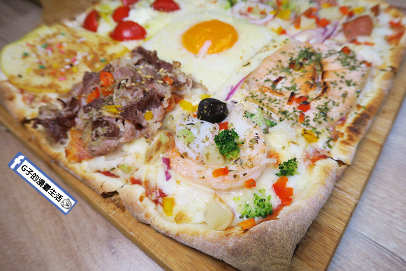士林愛披薩 ipizza 九宮格披薩 海鮮總匯口味