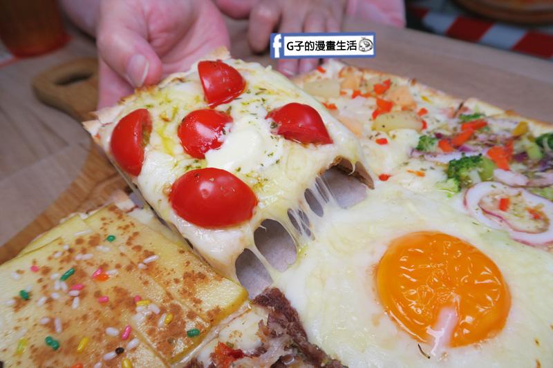 士林愛披薩 ipizza 九宮格披薩 瑪格麗特口味