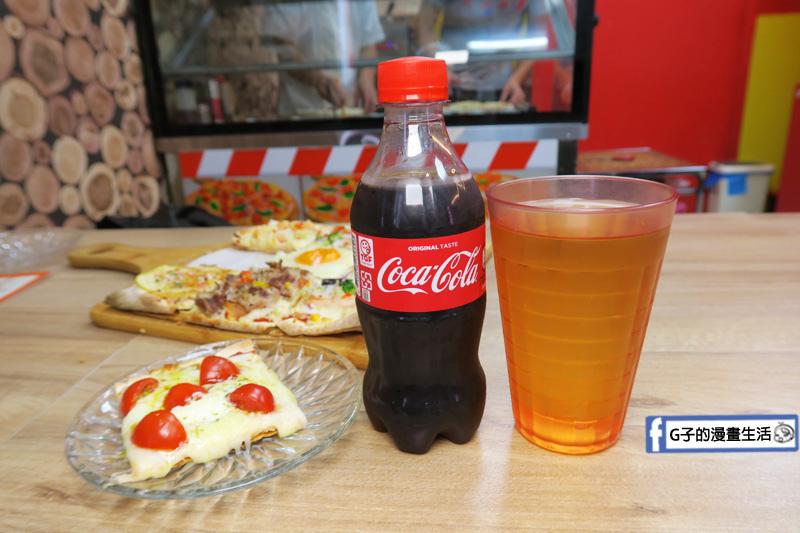 士林愛披薩 ipizza 飲料 花草茶 可樂