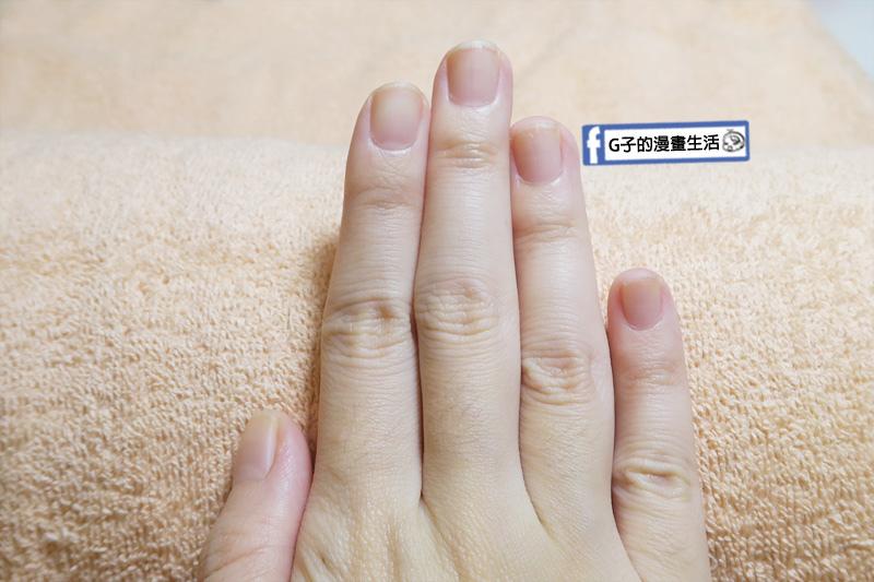 NICE SPA G子的素指甲很乾