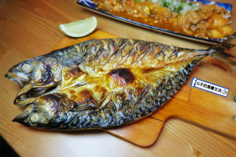 東京串燒。酒場 頂級挪威鯖魚一夜乾(超大尾)