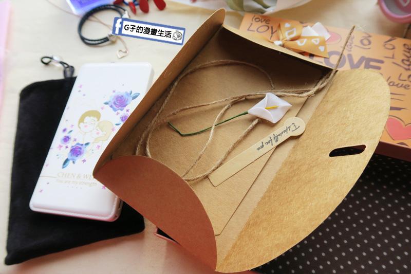 愛禮物.男友生日禮物.客製化禮物.專屬行動電源還有附卡片