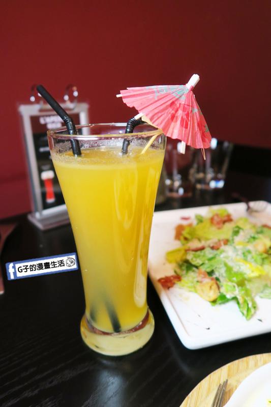 O'Steak Taipei 歐牛排法餐廳.現榨果汁-蘋果汁