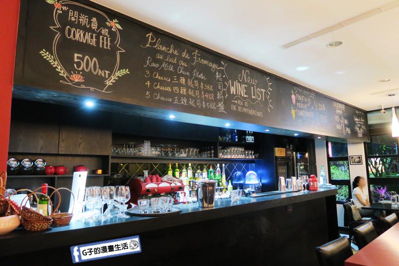 永康氣氛好餐廳 O'Steak Taipei 歐牛排法餐廳.吧檯.紅酒.調酒