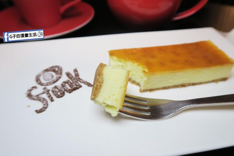 O'Steak Taipei 歐牛排法餐廳.甜點-起司蛋糕