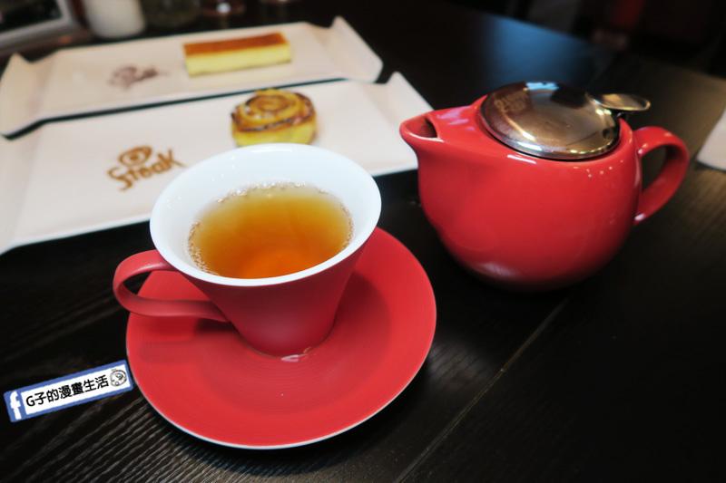 永康氣氛好餐廳 O'Steak Taipei 歐牛排法餐廳.烏龍茶