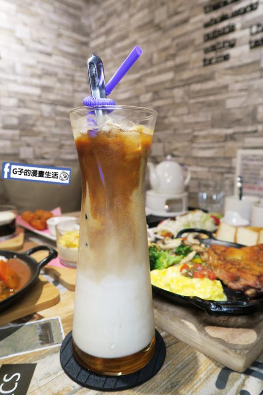 永和樂華夜市咖啡廳Magic Mars Coffee.海鹽焦糖咖啡