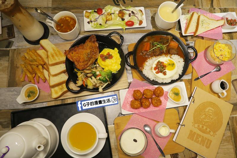 永和樂華夜市咖啡廳Magic Mars Coffee.簡餐.義大利麵.早午餐.排餐